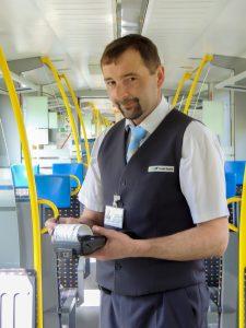 Kup jízdenku ve vlaku