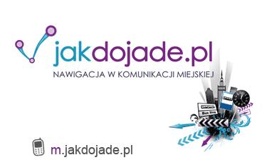 Logo portalu Jakdojdade.pl
